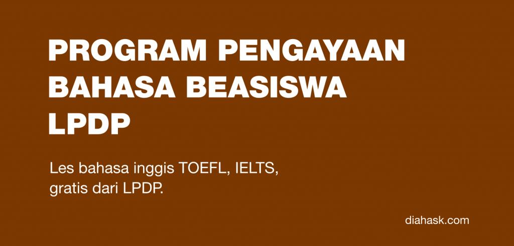 program pengayaan bahasa